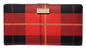 Kate Spade Kate Spade newbury lane printed neda Red Plaid