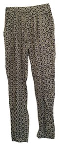 GRIFFLIN PARIS Relaxed Pants Blue and cream