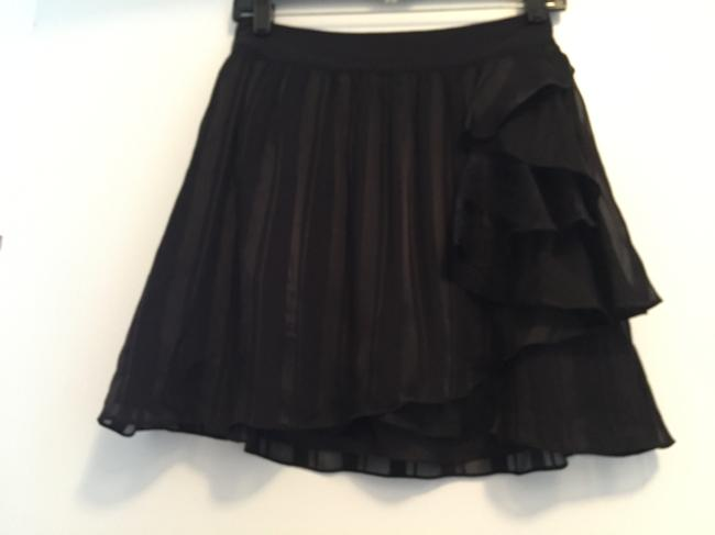Club Monaco Mini Skirt Black Image 1