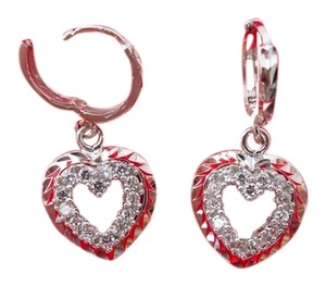 Other 18K Gold Over Sterling Silver Dangling Earrings