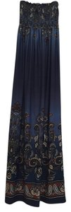 Blue Maxi Dress by bailey blue