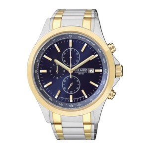 Citizen Mens Two-Tone Stainless Steel Chronograph Sport Watch AN3514-59L