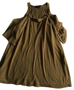 A X Armani Exchange Top Olive green