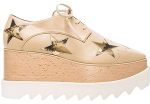 Stella McCartney nude Wedges