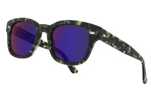 Gucci NEW Gucci GG 1079/S Mirrored Spotted Havana Wayfarer Sunglasses