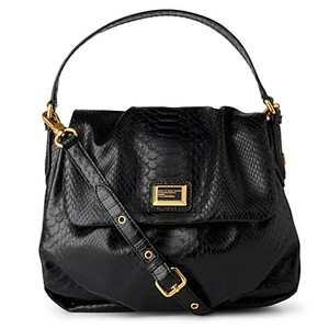 Marc Jacobs Leather Snakeskin Cross Body Bag