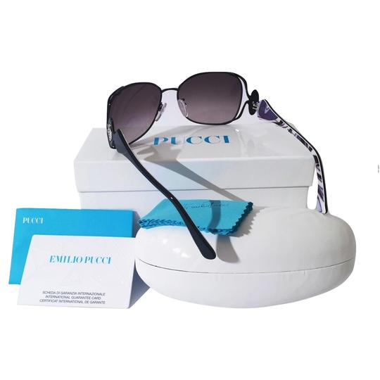 Emilio Pucci NEW with Case and Cards PUCCI SUNGLASSES with colored sides Image 2