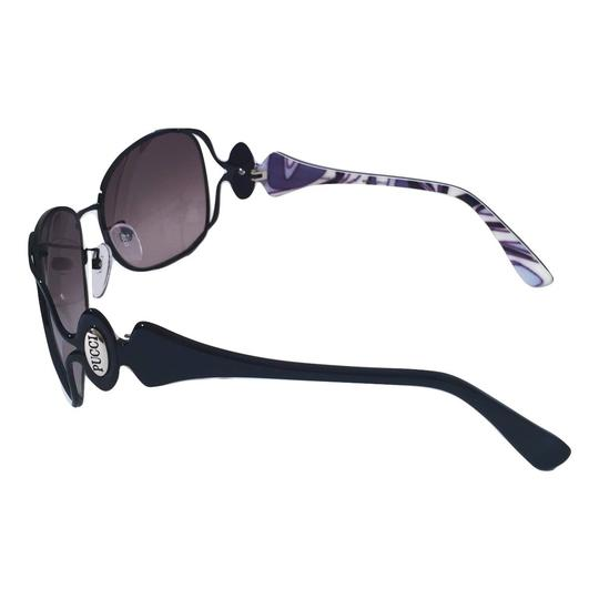 Emilio Pucci NEW with Case and Cards PUCCI SUNGLASSES with colored sides Image 5