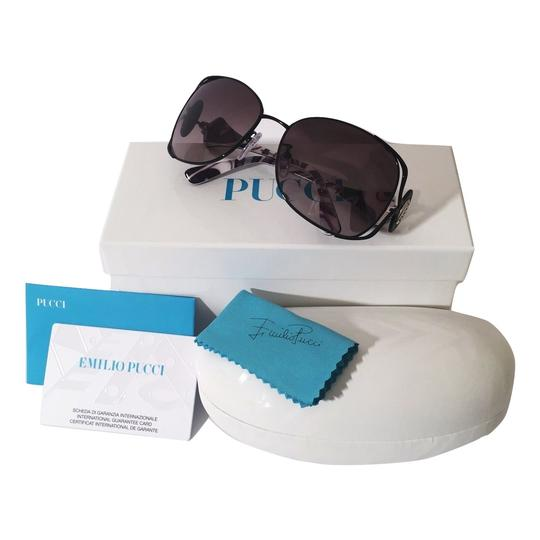 Emilio Pucci NEW with Case and Cards PUCCI SUNGLASSES with colored sides Image 6