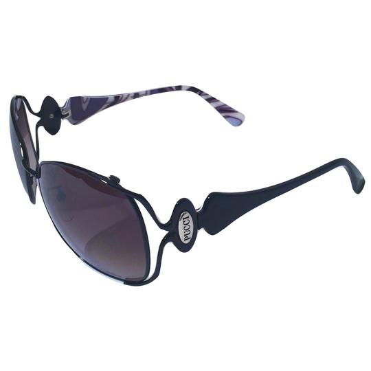 Emilio Pucci NEW with Case and Cards PUCCI SUNGLASSES with colored sides Image 7