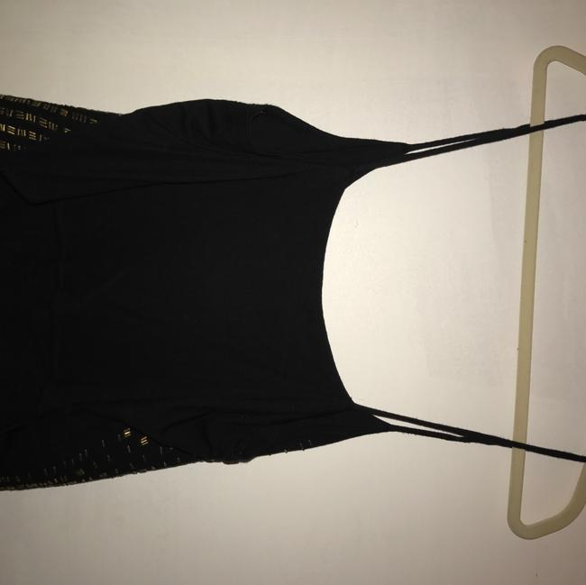 Topshop Top black and gold Image 1