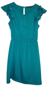 Miss Selfridge short dress Green/Teal on Tradesy