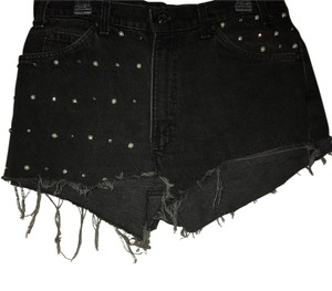 Urban Renewal Cut Off Shorts Black