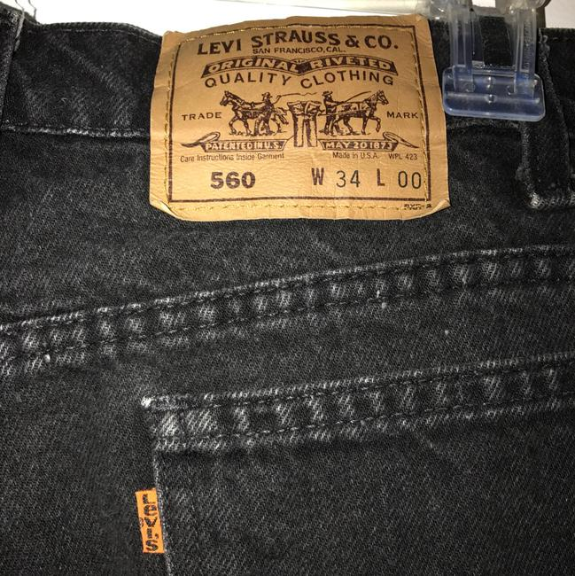 Urban Renewal Cut Off Shorts Black Image 4