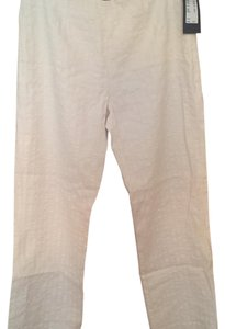 Piazza Sempione Skinny Pants cream/white