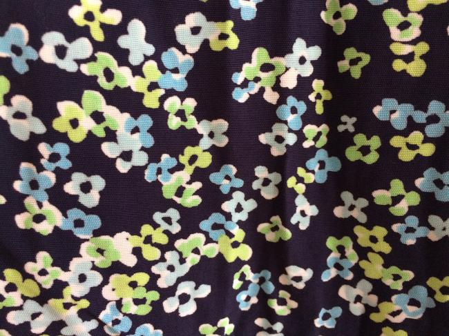 Gap Blue Floral Pattern Rayon Maxi Skirt MULTI COLOR Image 3