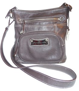 Sophia Caperelli Leather Cross Body Bag