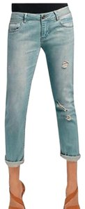 CAbi Deconstructed Boyfriend Cut Jeans-Light Wash