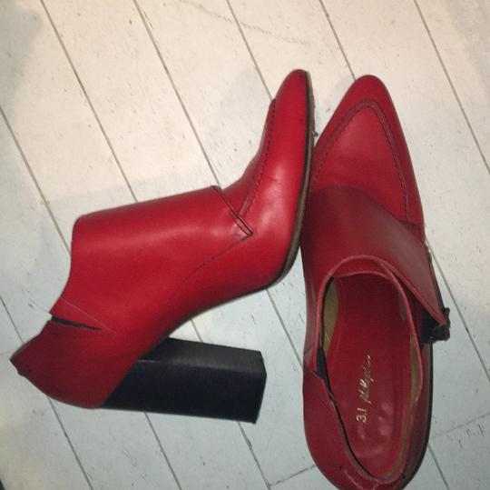 3.1 Phillip Lim red Boots Image 3