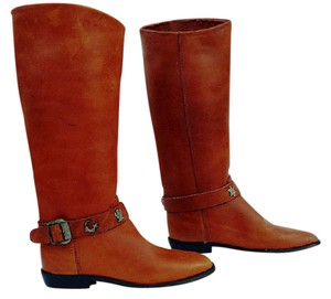 Etienne Aigner Tobacco Brown Boots
