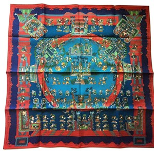 Herms Hermes Astres Et Soleils Scarf Carre 90