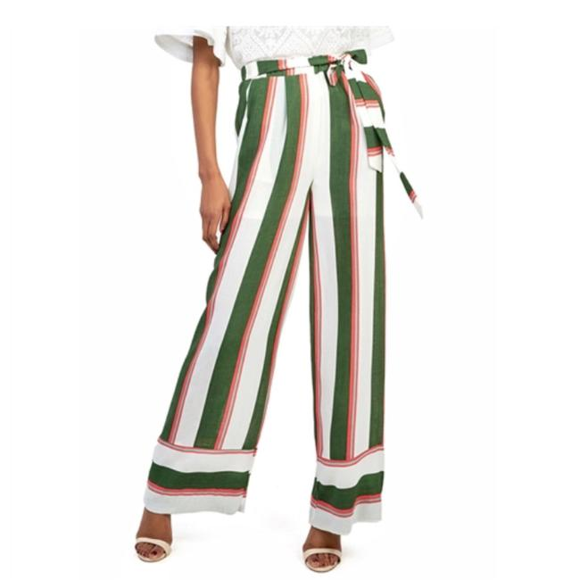 Preload https://img-static.tradesy.com/item/21287123/gracia-green-multi-stripe-printed-pants-size-6-s-28-0-0-650-650.jpg