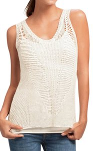 CAbi Knit Crochet Chic Spring Comfortable Sweater