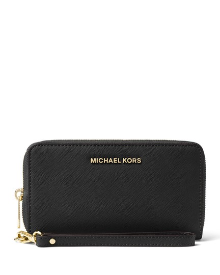 Michael Kors Wristlet in Navy Image 2