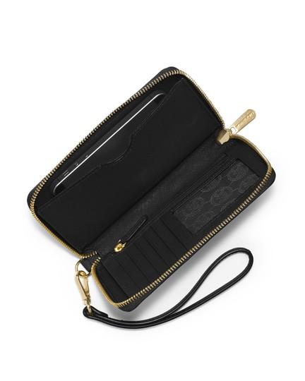 Michael Kors Wristlet in Navy Image 3