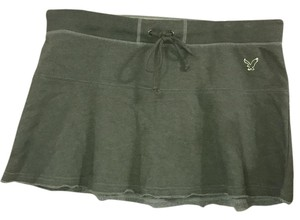 American Eagle Outfitters Mini Skirt army green