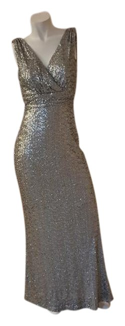 Preload https://img-static.tradesy.com/item/21287413/badgley-mischka-pewter-sequin-belle-sleeveless-evening-long-formal-dress-size-2-xs-0-1-650-650.jpg