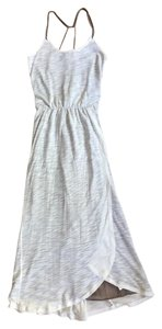 Off White Maxi Dress by Anthropologie