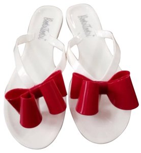 Other White and Pink Bow Sandals