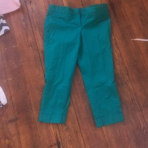 New York & Company Capri/Cropped Pants teal