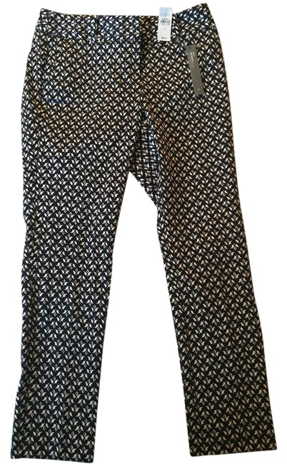 Item - Blue and White Julie Pants Size 6 (S, 28)
