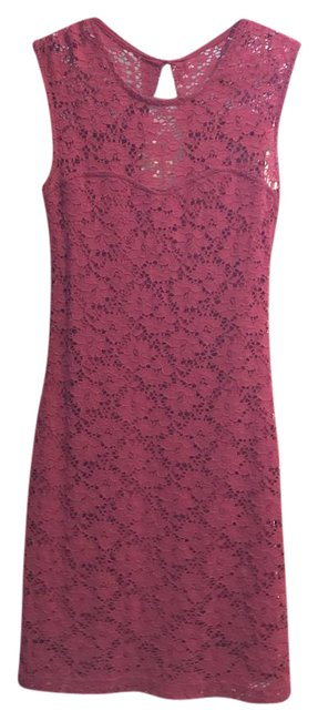 Item - Red Modcloth Mid-length Cocktail Dress Size 4 (S)