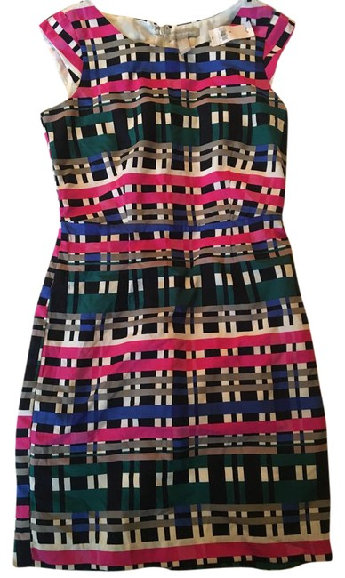 Item - Multicolor Outlet Mid-length Work/Office Dress Size 8 (M)