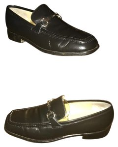 Gucci BLK/leather Flats