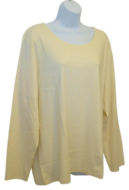 J. Jill Generous Fit Relaxed Fit Scoop Neck Pima Cotton Tunic Image 0