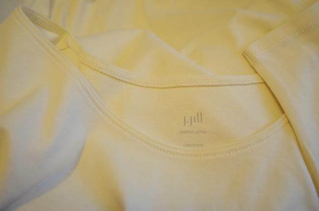 J. Jill Generous Fit Relaxed Fit Scoop Neck Pima Cotton Tunic Image 1