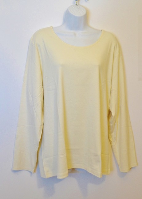 J. Jill Generous Fit Relaxed Fit Scoop Neck Pima Cotton Tunic Image 2