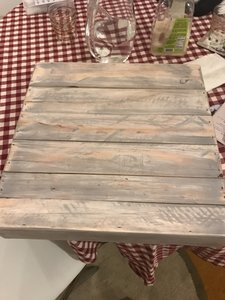 Cake Stand Made Of Reclaimed Wood