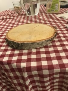 Birch Wood Slabs Perfect For Wedding Centerpieces