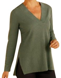 Soft Surroundings Generous Fit Relaxed Fit Longer Ribbed Knit Tunic