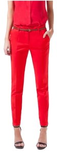 The Limited Capri/Cropped Pants Red