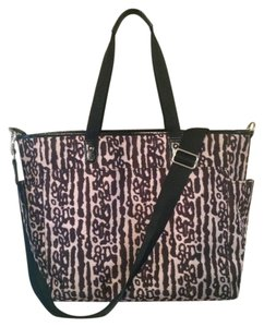 Coach Oversized Tote Removable Strap Lightweight Brown/Tan Multi Diaper Bag