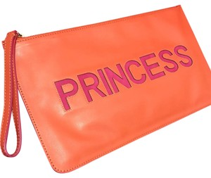 RED Valentino Wristlet in orange and pink