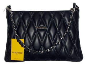 Mario Valentino Quilted Leather Cross Body Bag