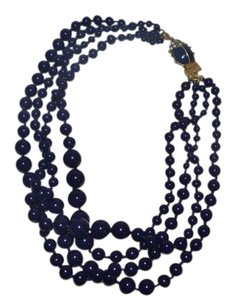 J.Crew NWT J CREW MULTI STRAND BEADED NECKLACE WITH CRITTER CLASP & DUST BAG