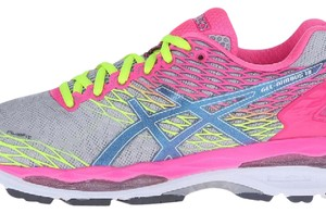 Asics silver, pink, yellow Athletic